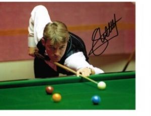 Stephen Henry Snooker World Champion